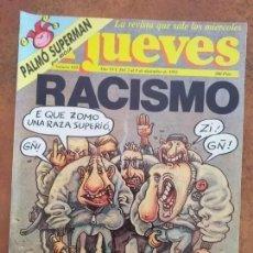 Coleccionismo de Revista El Jueves: EL JUEVES NUM 810 RACISMO. Lote 187309528