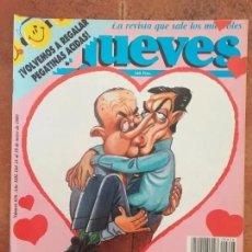 Coleccionismo de Revista El Jueves: EL JUEVES NUM 626 LA DERECHA SE DA LA LENGUA. Lote 187309936