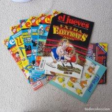 Coleccionismo de Revista El Jueves: LOTE 6 REVISTAS EL JUEVES 2008, MÁS 2 DE REGALO! MUY BUEN ESTADO!. Lote 187316322
