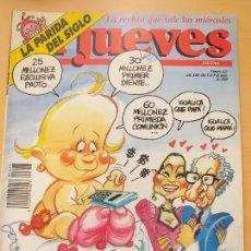 Coleccionismo de Revista El Jueves: EL JUEVES NUM 623 BOYERITA. Lote 187316517