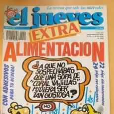 Coleccionismo de Revista El Jueves: EL JUEVES NUM 624. EXTRA ALIMENTACION. Lote 187316570