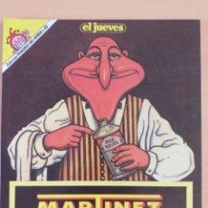 Coleccionismo de Revista El Jueves: PENDONES DEL HUMOR NUM 60. MARTINEZ EL FACHA. LIMPIA-ESPAÑA. Lote 187556537