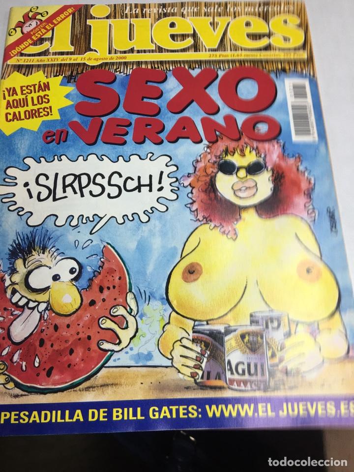 REVISTA EL JUEVES - SEXO EN VERANO - Nº 1211 (Coleccionismo - Revistas y Periódicos Modernos (a partir de 1.940) - Revista El Jueves)