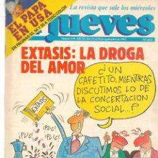 Coleccionismo de Revista El Jueves: EL JUEVES. Nº 539. 23 SEPBRE. 1987. (ST/SL). Lote 189182722