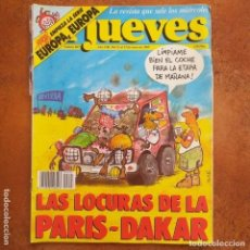 Coleccionismo de Revista El Jueves: EL JUEVES NUM 607 LAS LOCURAS DE LA PARIS - DAKAR. Lote 189262020