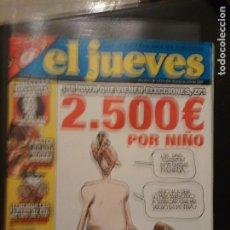 Coleccionismo de Revista El Jueves: REVISTA EL JUEVES JULIO 2007 NUM. 1573 PORTADA DEL PRÍNCIPE CENSURADA. Lote 189946238