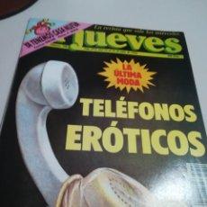 Coleccionismo de Revista El Jueves: REVISTA EL JUEVES Nº 790 AÑO 1992. TELEFONOS EROTICOS. REF. GAR 260. Lote 190106502