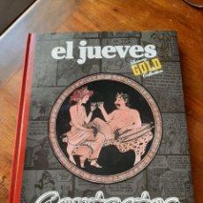 Coleccionismo de Revista El Jueves: TOMO TAPA DURA EL JUEVES LUXURY GOLD COLLECTION. CONTACTOS. GASTOS ENVIO 6 EUROS. Lote 216605742