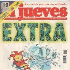 Coleccionismo de Revista El Jueves: REVISTA EL JUEVES NÚMERO 1033 DEL 12 AL 18 MARZO DE 1997. Lote 191107783
