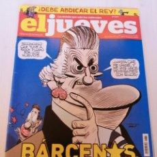 Coleccionismo de Revista El Jueves: EL JUEVES 1867 MARZO 2013 BARCENAS SUPERSTAR. Lote 191199863