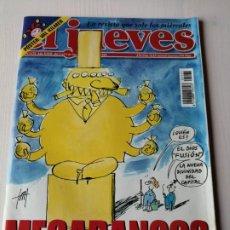 Coleccionismo de Revista El Jueves: EL JUEVES 1171 NOVIEMBRE 1999 MEGABANCOS. Lote 191330077