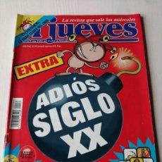 Coleccionismo de Revista El Jueves: EL JUEVES EXTRA ADIÓS SIGLO XX 1177 DICIEMBRE 1999 ADIÓS SIGLO XX. Lote 191330171