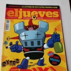 Coleccionismo de Revista El Jueves: EL JUEVES EXTRA FRIKI 1698 DICIEMBRE 2009 CON LAS GAFAS 3 D INCLUIDAS. Lote 191377116