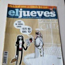 Coleccionismo de Revista El Jueves: EL JUEVES 1677 JULIO 2009 JACKO QUE ESTÁS EN LOS CIELOS. Lote 191378190