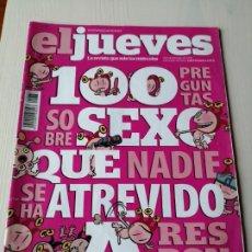 Coleccionismo de Revista El Jueves: EL JUEVES EXTRA SEXO 1676 JULIO 2009 100 PREGUNTAS SOBRE SEXO QUE NADIE SE HA ATREVIDO A RESPONDER. Lote 191378557