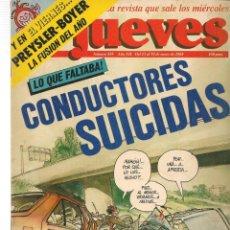 Coleccionismo de Revista El Jueves: EL JUEVES. Nº 555. 13 ENERO 1988. (ST/SL). Lote 191458400