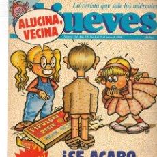 Coleccionismo de Revista El Jueves: EL JUEVES. Nº 554. 6 ENERO 1988. (ST/SL). Lote 191458563