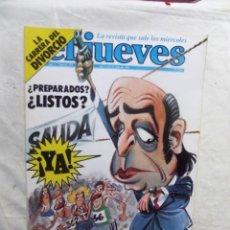 Coleccionismo de Revista El Jueves: EL JUEVES Nº 214 DEL 1 AL 8 DE JULIO DE 1981 ¿ PREPARADOS ? ¿ LISTOS ? . Lote 192912091