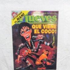 Coleccionismo de Revista El Jueves: EL JUEVES Nº 583 DEL 27 DE JULIO AL 2 DE AGOSTO DE 1988 QUE VIENE EL COCO . Lote 192922171