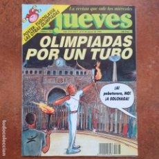 Coleccionismo de Revista El Jueves: EL JUEVES NUM 793. OLIMPIADAS POR UN TUBO.. Lote 193034420