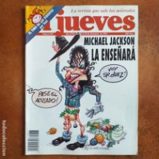 Coleccionismo de Revista El Jueves: EL JUEVES NUM 865. MICHAEL JACKSON LA ENSEÑARÁ . Lote 193038283