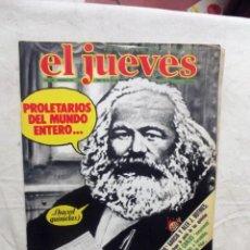 Coleccionismo de Revista El Jueves: EL JUEVES Nº 124 DEL 10 AL 16 DEL 1979 PROLETARIOS DEL MUNDO ENTERO. Lote 193163686