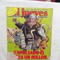 Coleccionismo de Revista El Jueves: EL JUEVES Nº 144 DE 1980 EXPULSADO EL ESPIA UN MILLON. Lote 193164410
