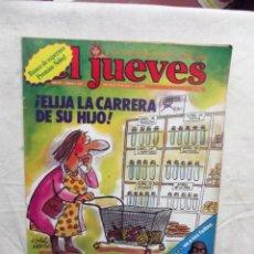 Coleccionismo de Revista El Jueves: EL JUEVES Nº 147 DEL 19 AL 25 DE MARZO DE 1980 ¡ ELIJA LA CARRERA DE SU HIJO ! . Lote 193164916