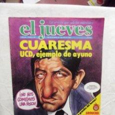 Coleccionismo de Revista El Jueves: EL JUEVES Nº 148 DEL 26 DE MARZO AL 1 DE ABRIL DE 1980 CUARESMA UCD,EJEMPLO DE AYUNO . Lote 193165201