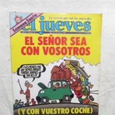 Coleccionismo de Revista El Jueves: EL JUEVES Nº 149 DEL 2 AL 8 DE ABRIL DE 1980 EL SEÑOR SEA CON VOSOTROS ( Y CON VUESTRO COCHE ). Lote 193258923