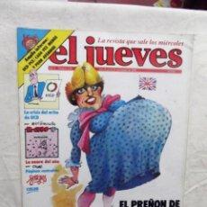 Coleccionismo de Revista El Jueves: EL JUEVES Nº 234 DEL 19 AL 25 DE NOVIEMBRE DE 1981 EL PREÑON DE GRIBALTAR . Lote 193262341