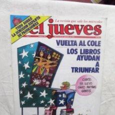Coleccionismo de Revista El Jueves: EL JUEVES Nº 224 DEL 9 DE AL 15 DE SEPTIEMBRE DE 1981 VUELTA AL COLE - LOS LIBROS AYUDAN A TRIUNFAR . Lote 193262873