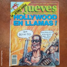 Coleccionismo de Revista El Jueves: EL JUEVES NUM 781. HOLLYWOOD EN LLAMAS. Lote 193371168