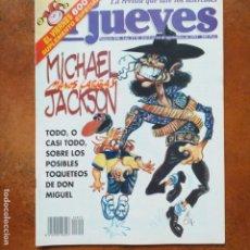 Coleccionismo de Revista El Jueves: EL JUEVES NUM 850. MICHAEL MANOS LARGAS JACKSON. Lote 193373592