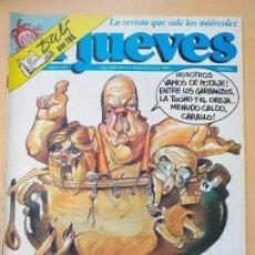 Coleccionismo de Revista El Jueves: EL JUEVES NUM 611 CARNAVAL 89. Lote 193574728
