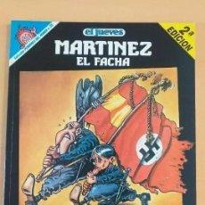 Coleccionismo de Revista El Jueves: PENDONES DEL HUMOR NUM 25 MARTINEZ EL FACHA VOLVERAN BANDERAS VICTORIOSAS. Lote 194301663