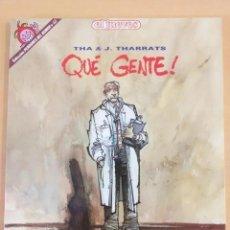 Coleccionismo de Revista El Jueves: PENDONES DEL HUMOR NUM 53. QUE GENTE. THA THARRATS.. Lote 194303816
