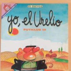 Coleccionismo de Revista El Jueves: PENDONES DEL HUMOR NUM 65. PUTICLUB III. YO, EL URELIO.. Lote 194303937