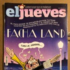 Coleccionismo de Revista El Jueves: EL JUEVES N° 2071 (2016). FACHA LAND.. Lote 194741511