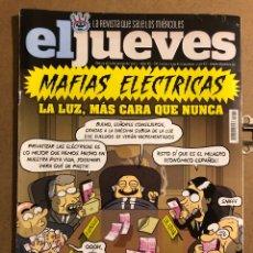 Coleccionismo de Revista El Jueves: EL JUEVES N° 2070 (2017). MAFIAS ELÉCTRICAS.. Lote 194741558
