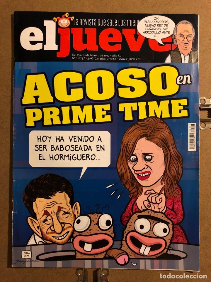 EL JUEVES N° 2073 (2017). ACOSO EN PRIME TIME. (Coleccionismo - Revistas y Periódicos Modernos (a partir de 1.940) - Revista El Jueves)