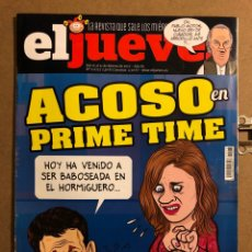 Coleccionismo de Revista El Jueves: EL JUEVES N° 2073 (2017). ACOSO EN PRIME TIME.. Lote 194741597