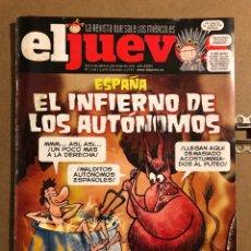 Coleccionismo de Revista El Jueves: EL JUEVES N° 2031 (2016). ESPAÑA: EL INFIERNO DE LOS AUTÓNOMOS.. Lote 194741862