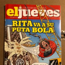 Coleccionismo de Revista El Jueves: EL JUEVES N° 2052 (2016). RITA VA A SU PUTA BOLA.. Lote 194741921
