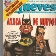 Coleccionismo de Revista El Jueves: EL JUEVES. Nº 642. ATACA DE NUEVO!. 13 SEPTIEMBRE 1989. (ST/SL). Lote 194962107