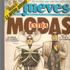 Coleccionismo de Revista El Jueves: EL JUEVES. Nº 644. EXTRA MODAS. 27 SEPTIEMBRE 1989. (ST/SL). Lote 194962293