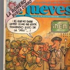 Coleccionismo de Revista El Jueves: EL JUEVES. Nº 645. MILI: GRANDES REBAJAS POR ELECCIONES. 4 OCTUBRE 1989. (ST/SL). Lote 194962420