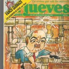 Coleccionismo de Revista El Jueves: EL JUEVES. Nº 661. LOS APUROS DE GORBI. 24 ENERO 1990. (ST/SL). Lote 194962648