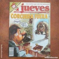 Coleccionismo de Revista El Jueves: EL JUEVES NUM 862. CORCUERA FUERA. Lote 195187687
