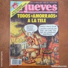 Coleccionismo de Revista El Jueves: EL JUEVES NUM 792. TODOS AMORRAOS A LA TELE. Lote 195187730